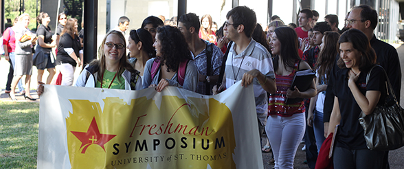 Freshman Symposium is Students' First Class at UST